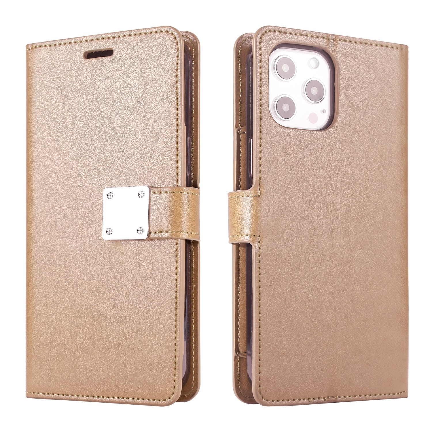 LUX Wallet Case for Apple iPhone XS MAX-Golden