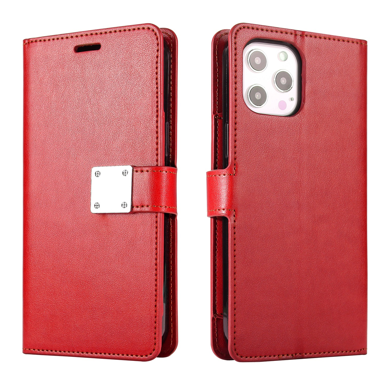LUX Wallet Case for Apple iPhone XS MAX-Red