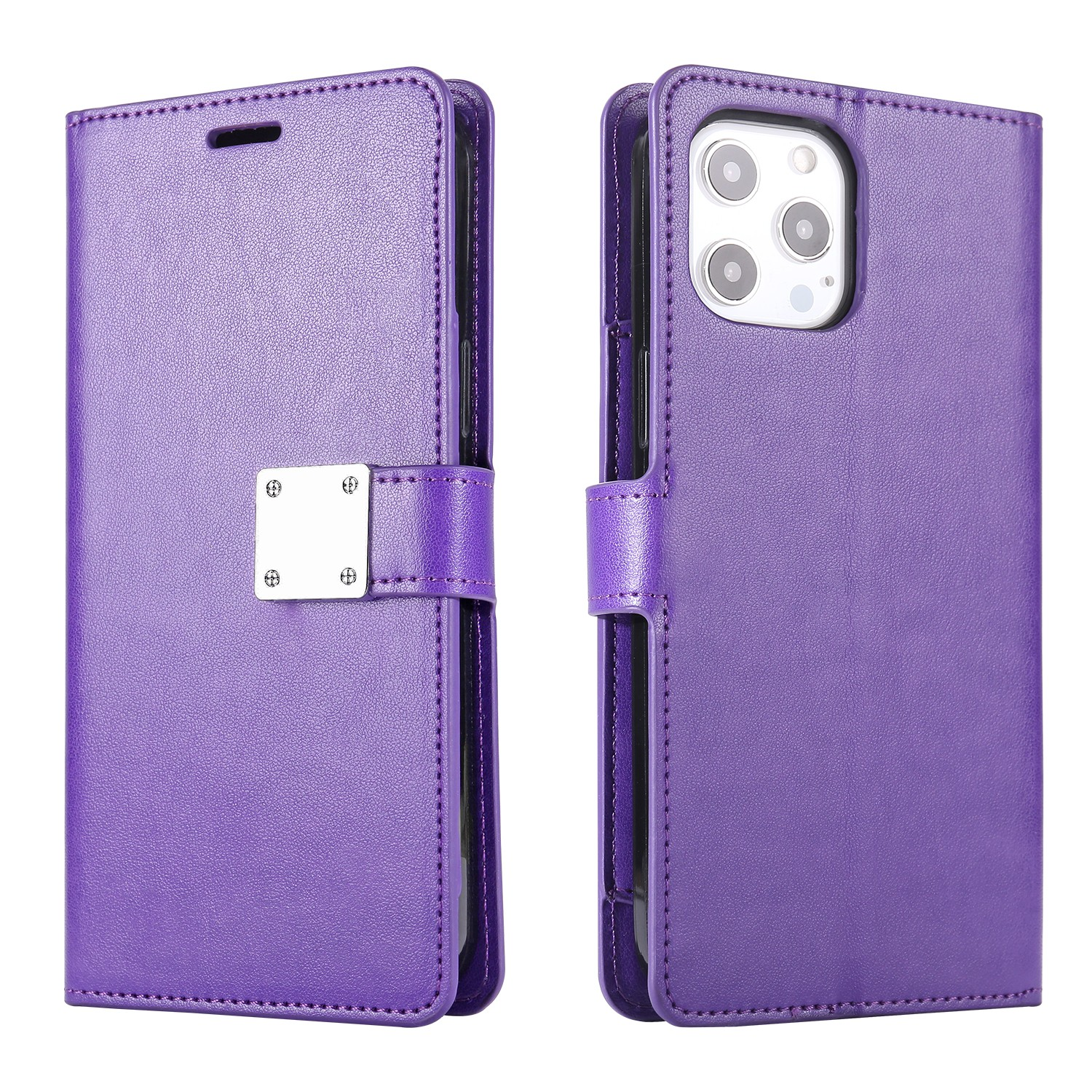 LUX Wallet Case for Apple iPhone XS MAX-Purple