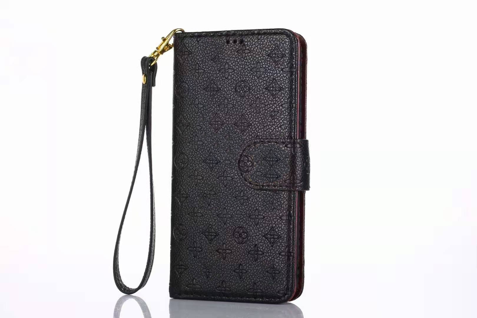 Luxurious Wallet Series For Apple iPhone 7P/8 Plus- Black