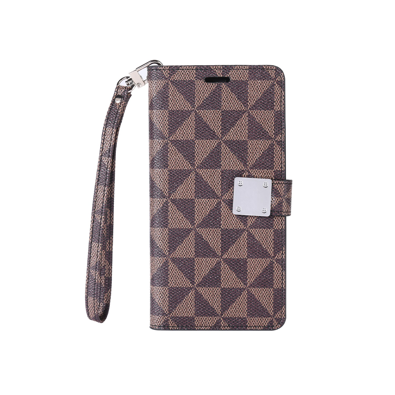 LUX Wallet Case for Apple iPhone 6/6S-Pro Brown