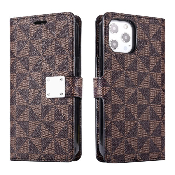 LUX Wallet Case for Apple iPhone 7P/8Plus-Brown