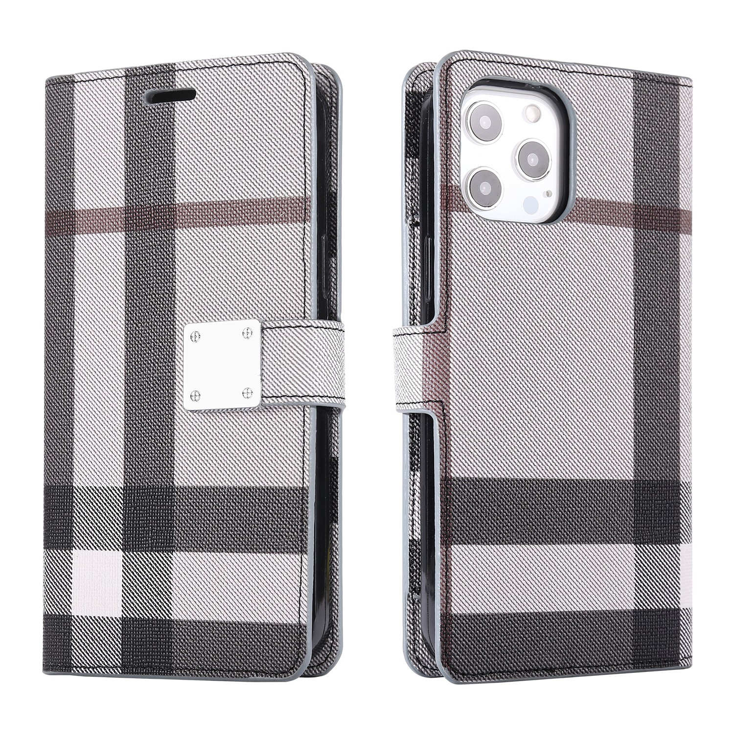 LUX Wallet Case for Apple iPhone XS MAX-Gray