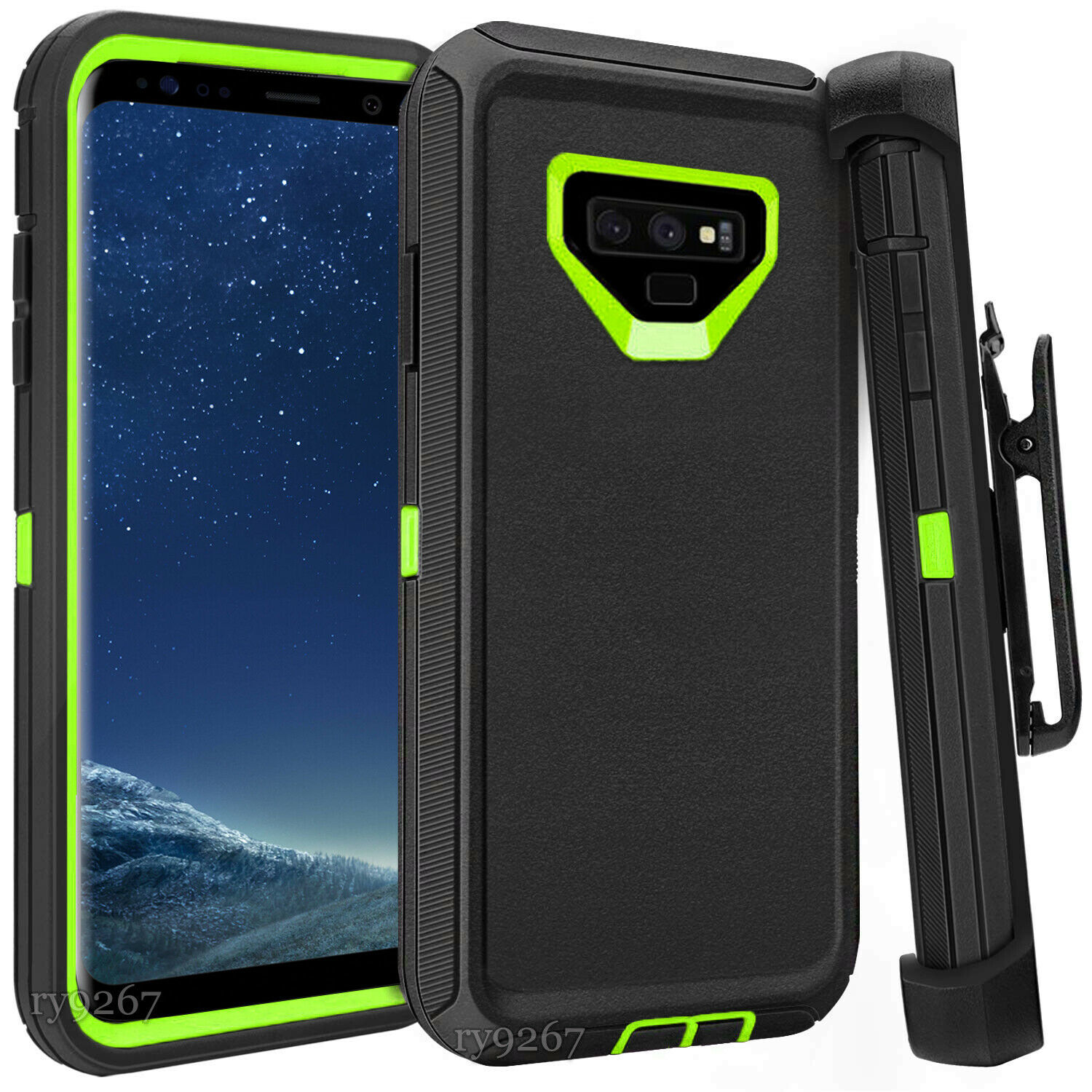 Defend Heavy Duty For SAMSUNG NOTE 9 – Blue & Green