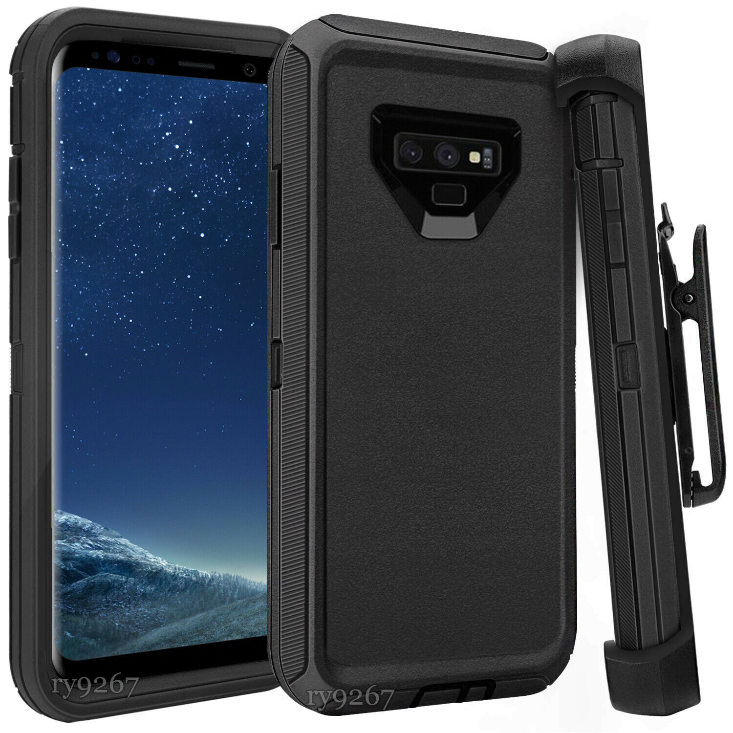 Defend Heavy Duty For SAMSUNG NOTE 9 – Black
