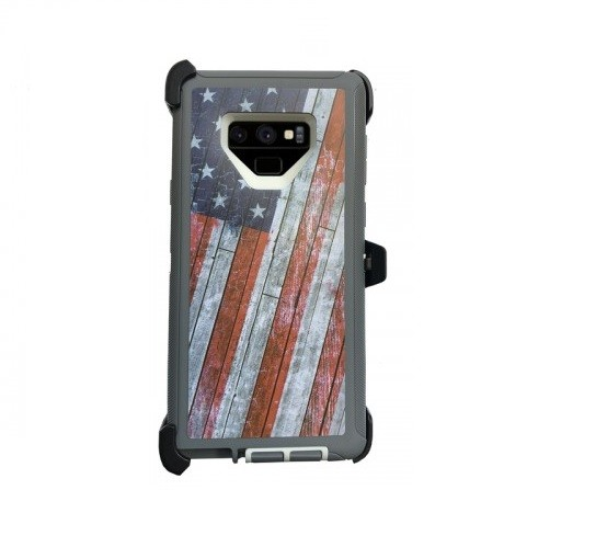 Defend Heavy Duty For SAMSUNG NOTE 9 – USA Flag