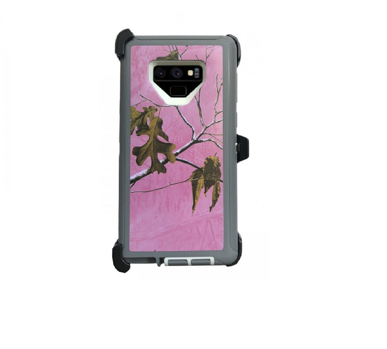 Defend Heavy Duty For SAMSUNG NOTE 9 – Pink Camouflage