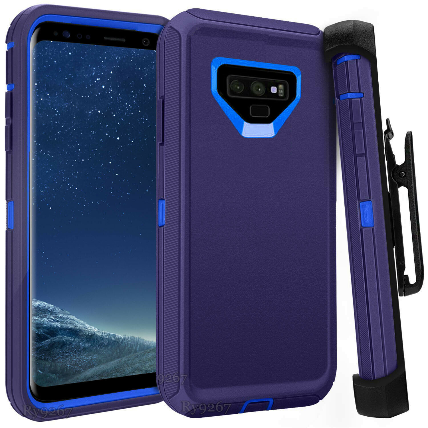 Defend Heavy Duty For SAMSUNG NOTE 9 – Blue