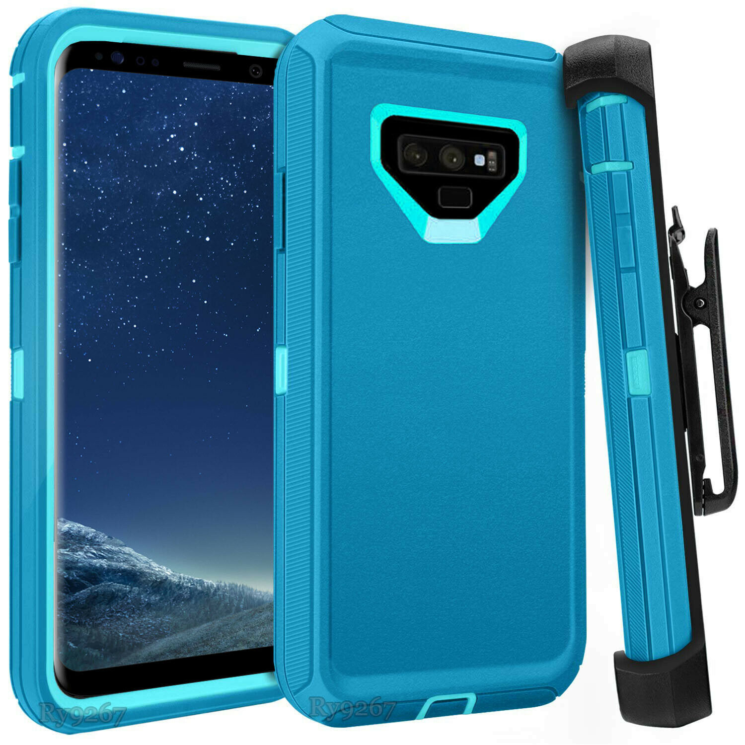 Defend Heavy Duty For SAMSUNG NOTE 9 – Teal