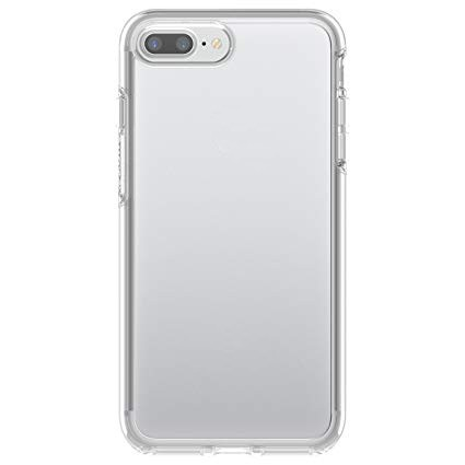 Uniformity Series For Apple iPhone 7/8 Plus- Clear Glitter