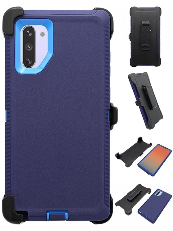 Defend Heavy Duty For SAMSUNG NOTE 10 – Navy Blue