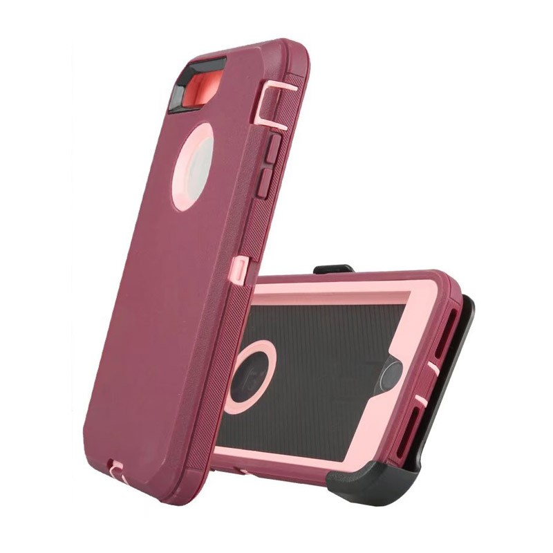 Defend Heavy Duty For Apple iPhone 5/5S/SE – Burgundy