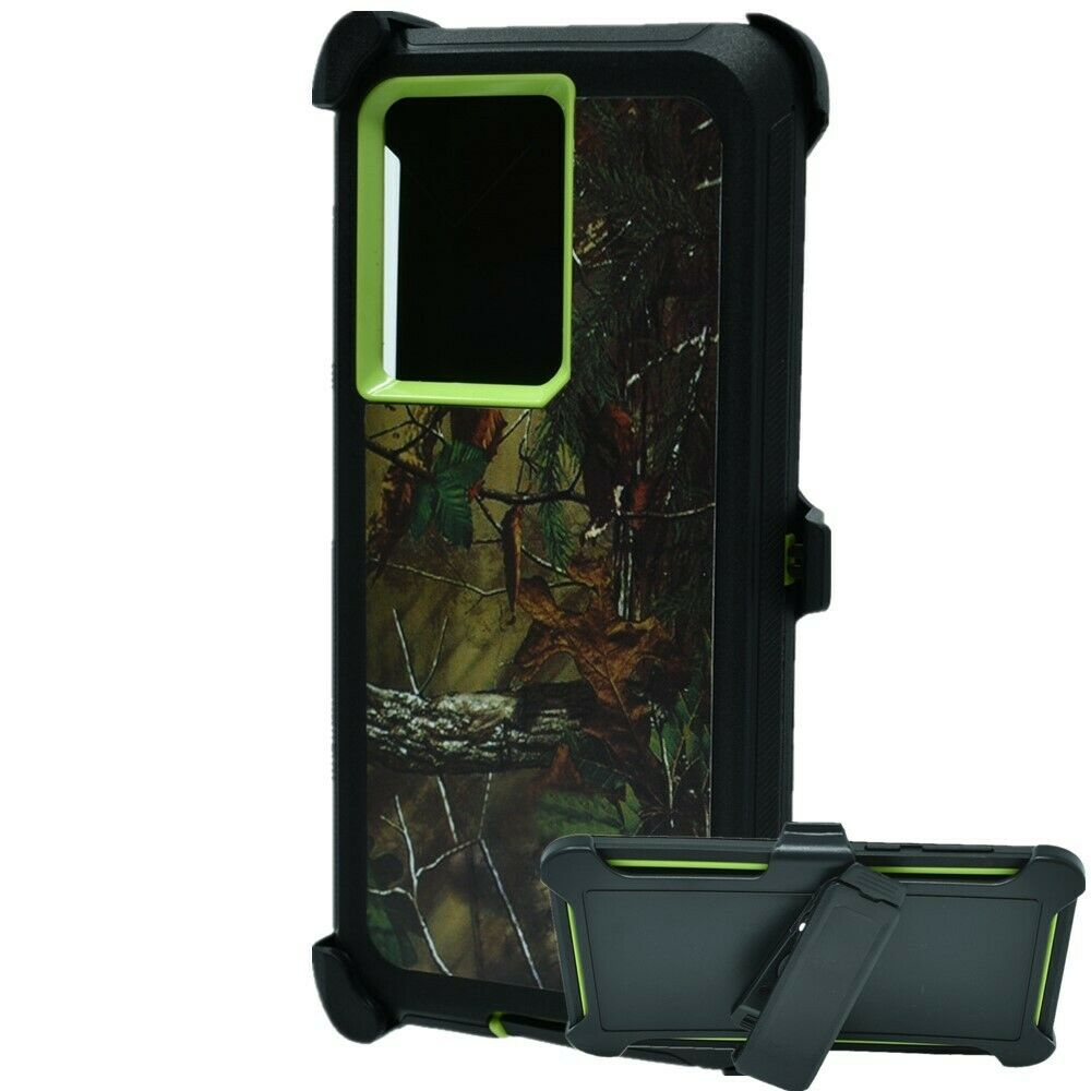 Defend Heavy Duty For SAMSUNG NOTE 20 – Green Camouflage