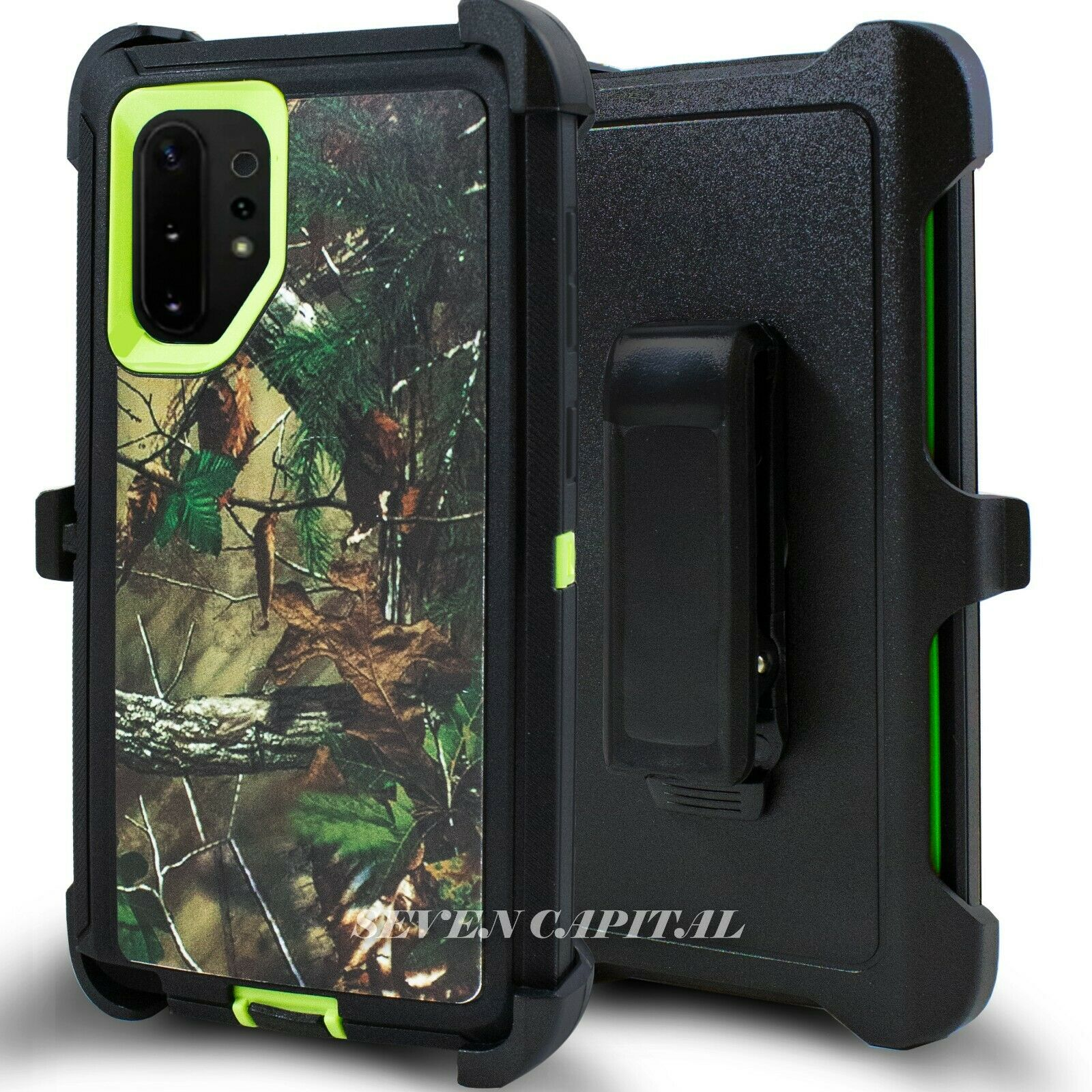 Defend Heavy Duty For SAMSUNG NOTE 10 – Green Camo