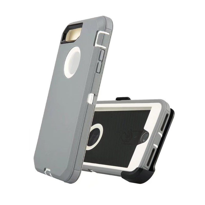 Defend Heavy Duty For Apple iPhone 5/5S/SE – Gray