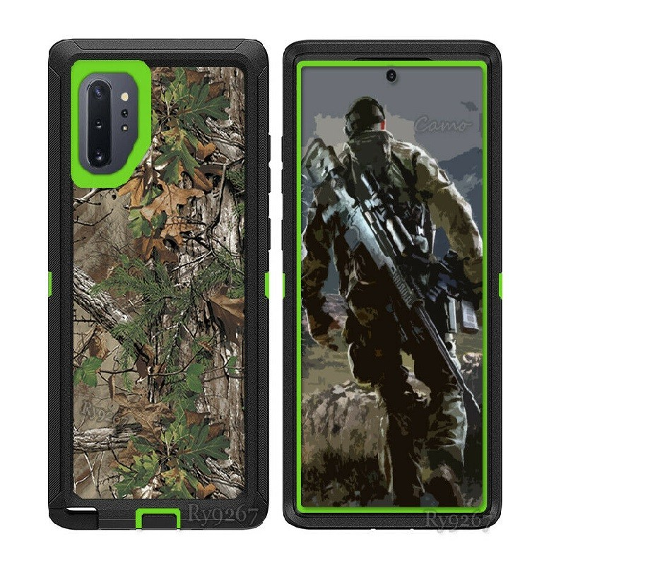 Defend Heavy Duty For SAMSUNG Glaxy S21 Plus-Green Camo