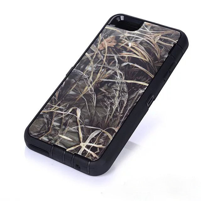Defend Heavy Duty For Apple iPhone 5/5S/SE – Green Camouflage