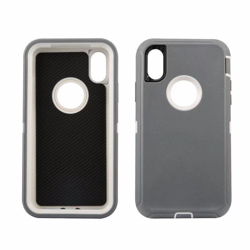 Defend Heavy Duty For Apple iPhone X/XS- Gray