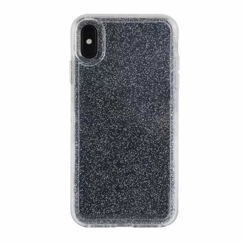 Uniformity Series For Apple iPhone X/XS- Clear Glitter