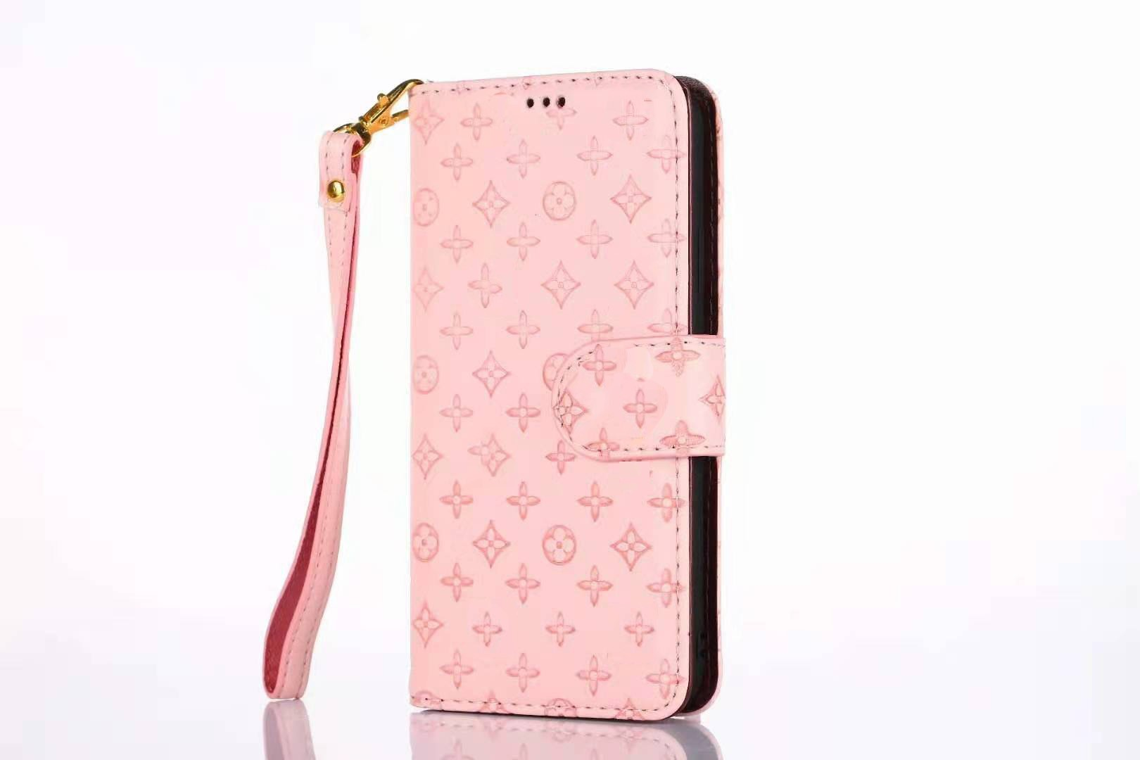 Luxurious Wallet Series For Apple iPhone  7P/8 Plus – Light Pink