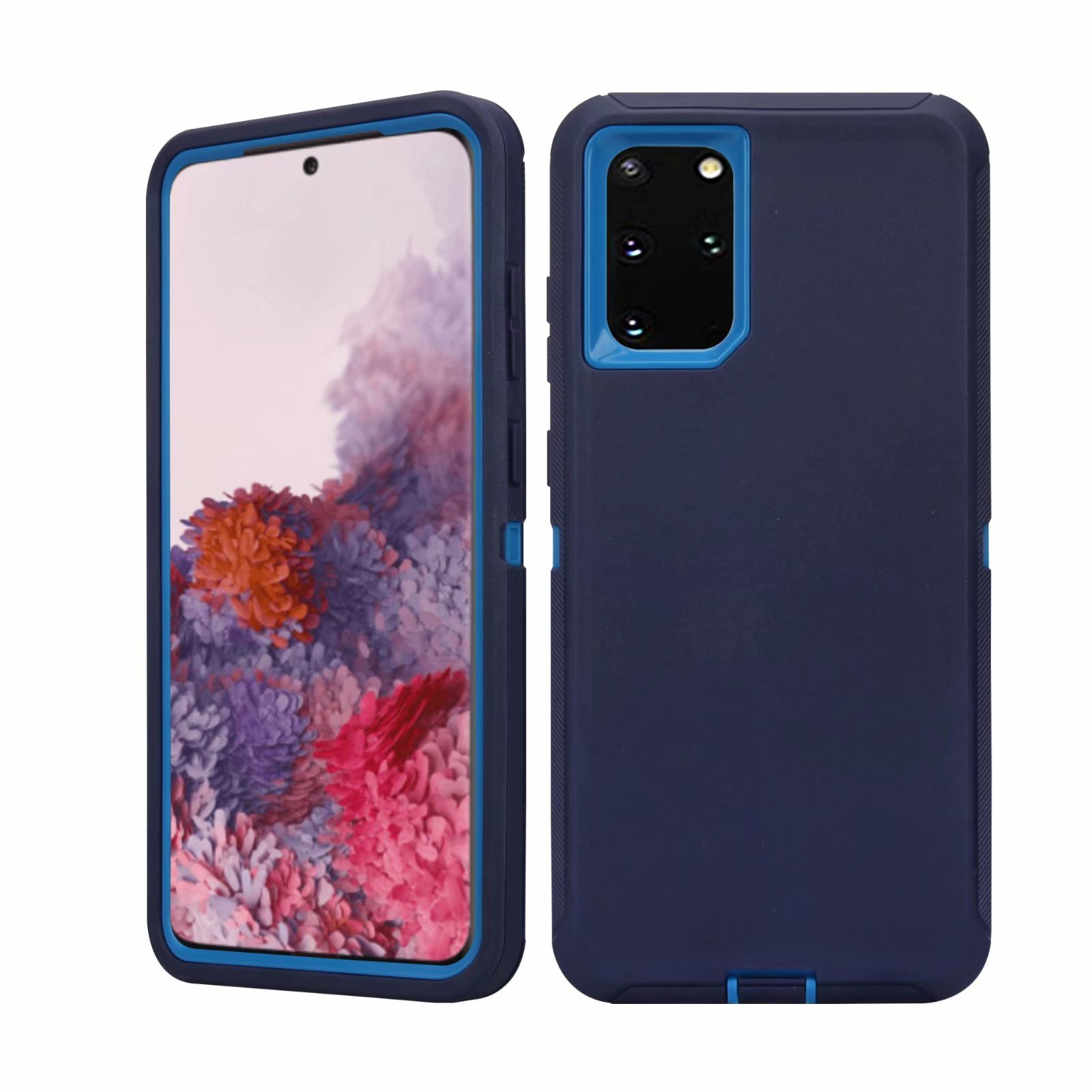 Defend Heavy Duty For SAMSUNG Glaxy S20-Navy Blue