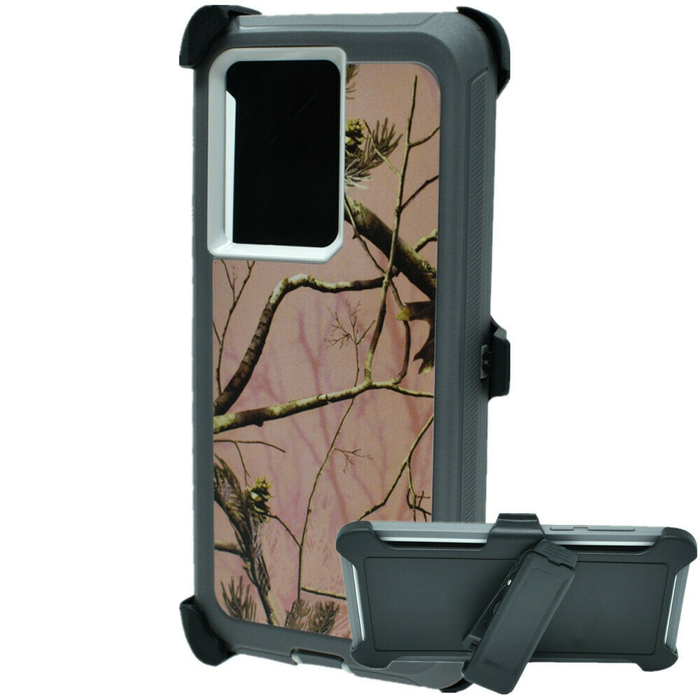 Defend Heavy Duty For SAMSUNG NOTE 20 Ultra – Pink Camouflage