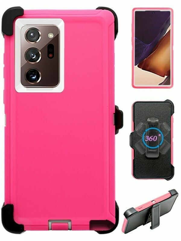 Defend Heavy Duty For SAMSUNG NOTE 20 ULTRA –Pink