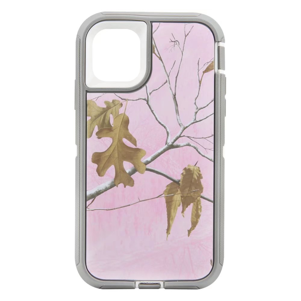 Defend Heavy Duty For Apple iPhone 11-Pink Camouflage