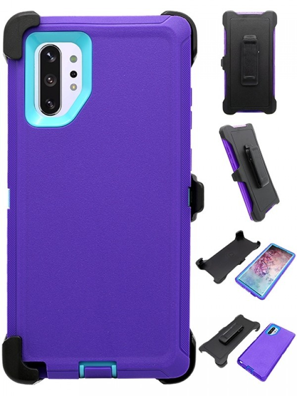 Defend Heavy Duty For SAMSUNG NOTE 10 – Purple