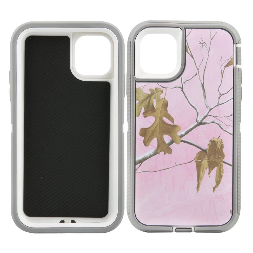 Defend Heavy Duty For Apple iPhone 11 Pro Max -Pink Camouflage