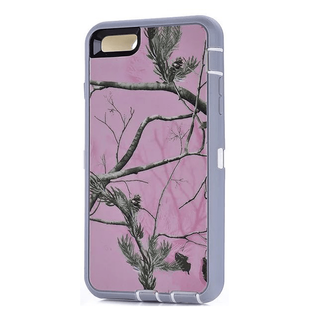 Defend Heavy Duty For Apple iPhone 5/5S/SE – Pink Camouflage