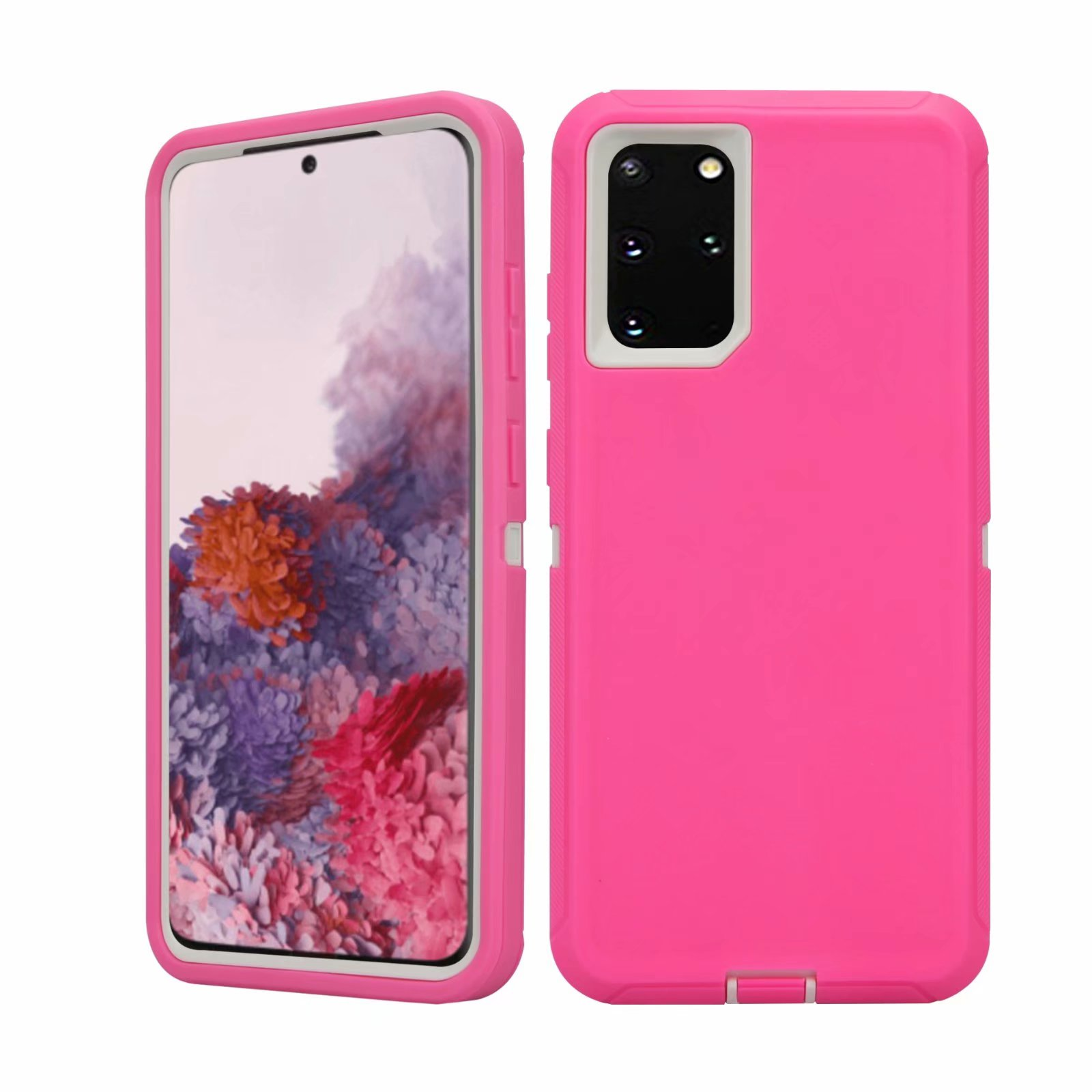 Defend Heavy Duty For SAMSUNG Glaxy S20 Plus-Pink