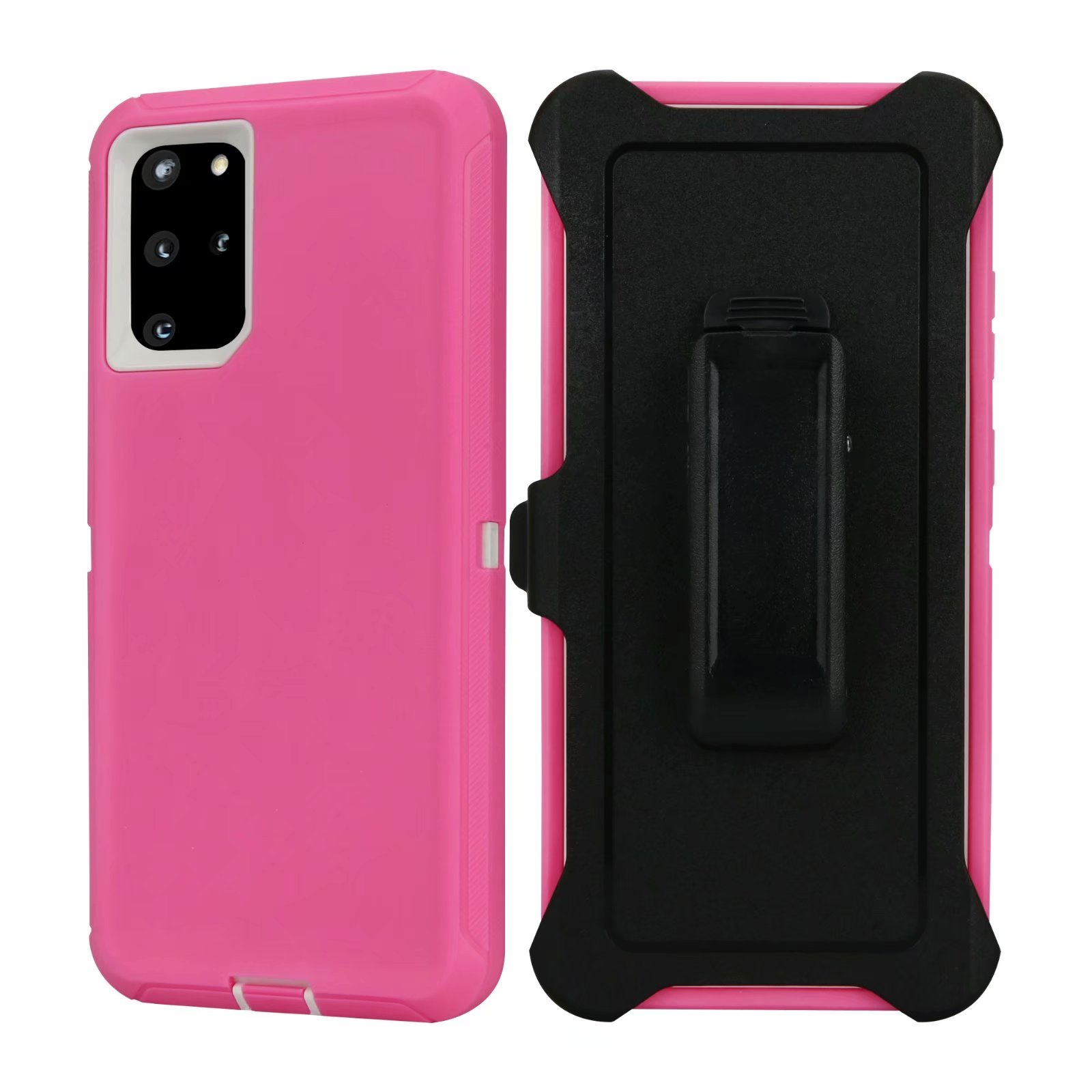 Defend Heavy Duty For SAMSUNG Glaxy S20-Pink