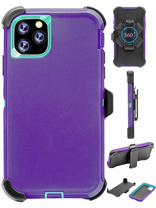 Defend Heavy Duty For Apple iPhone 11-Purple