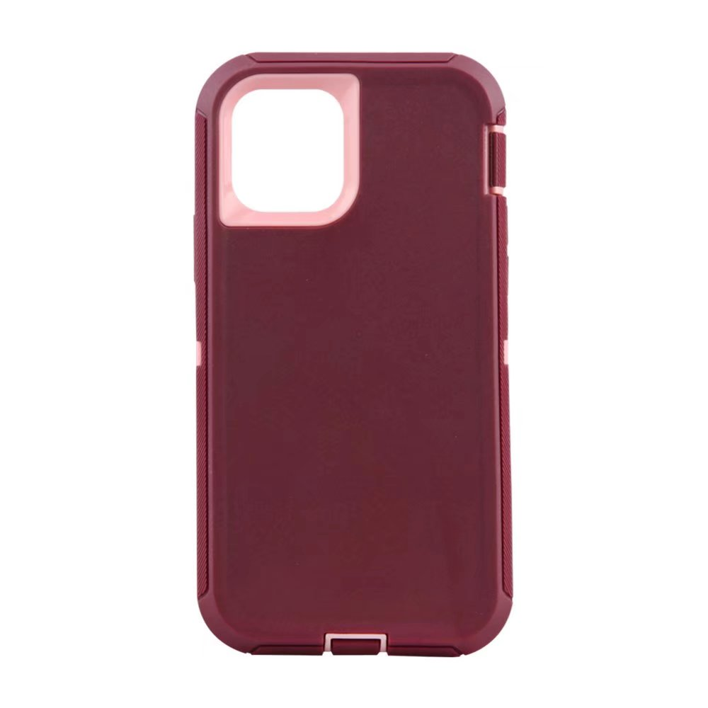Defend Heavy Duty For Apple iPhone 11 Pro Max -Burgandy