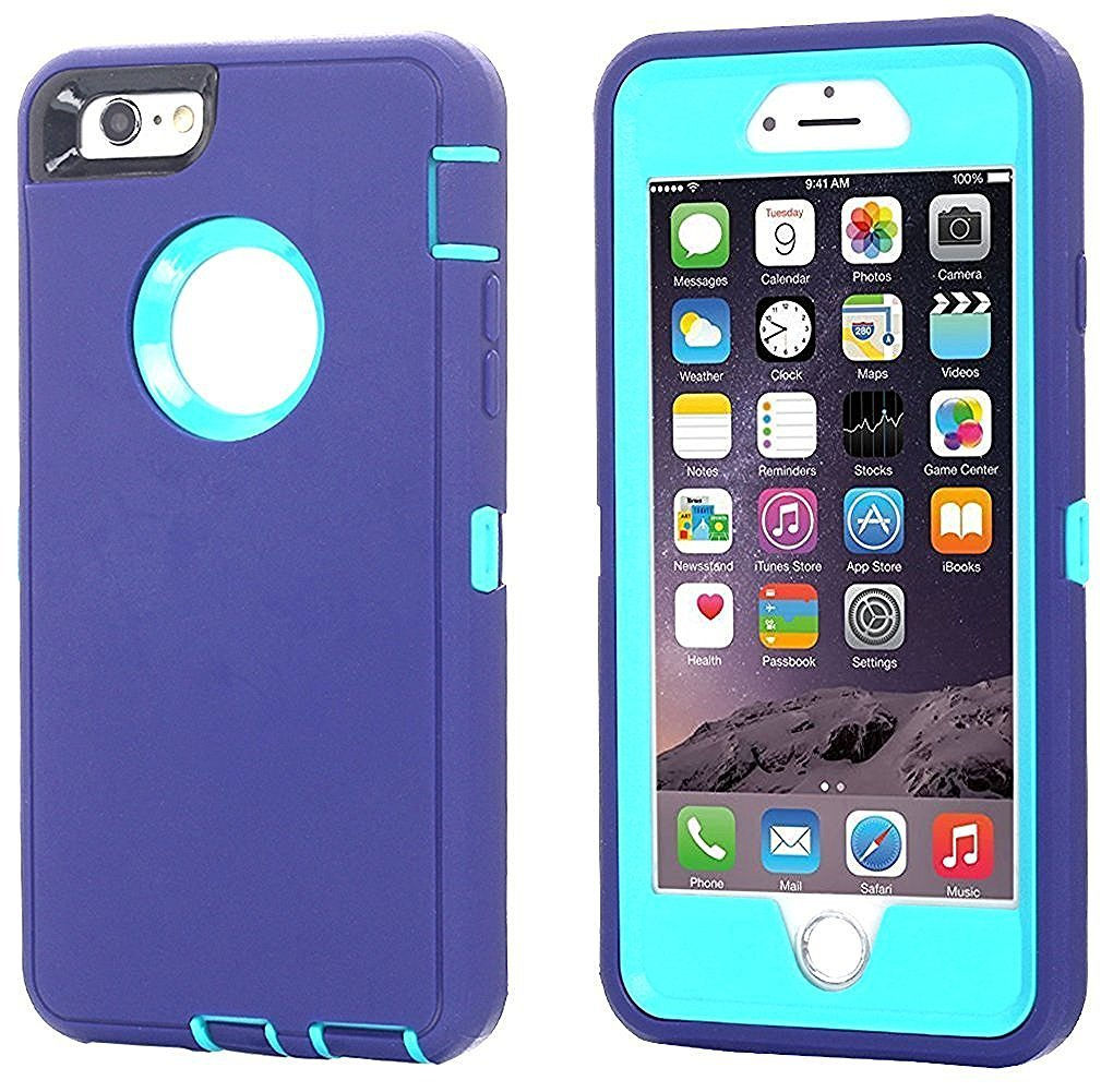 Defend Heavy Duty For Apple iPhone 5/5S/SE – Purple