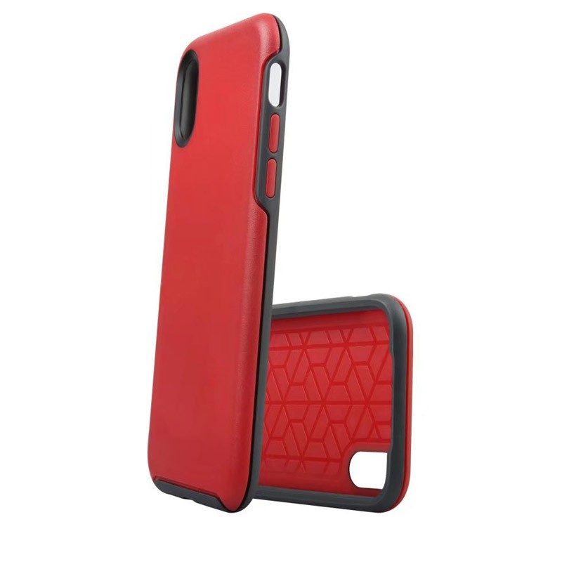 Uniformity Series For Apple iPhone X/XS- Red