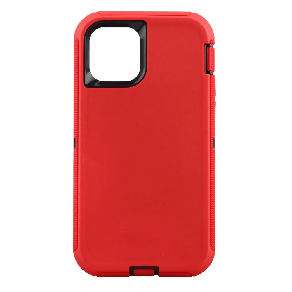 Defend Heavy Duty For Apple iPhone 11 Pro Max -Red