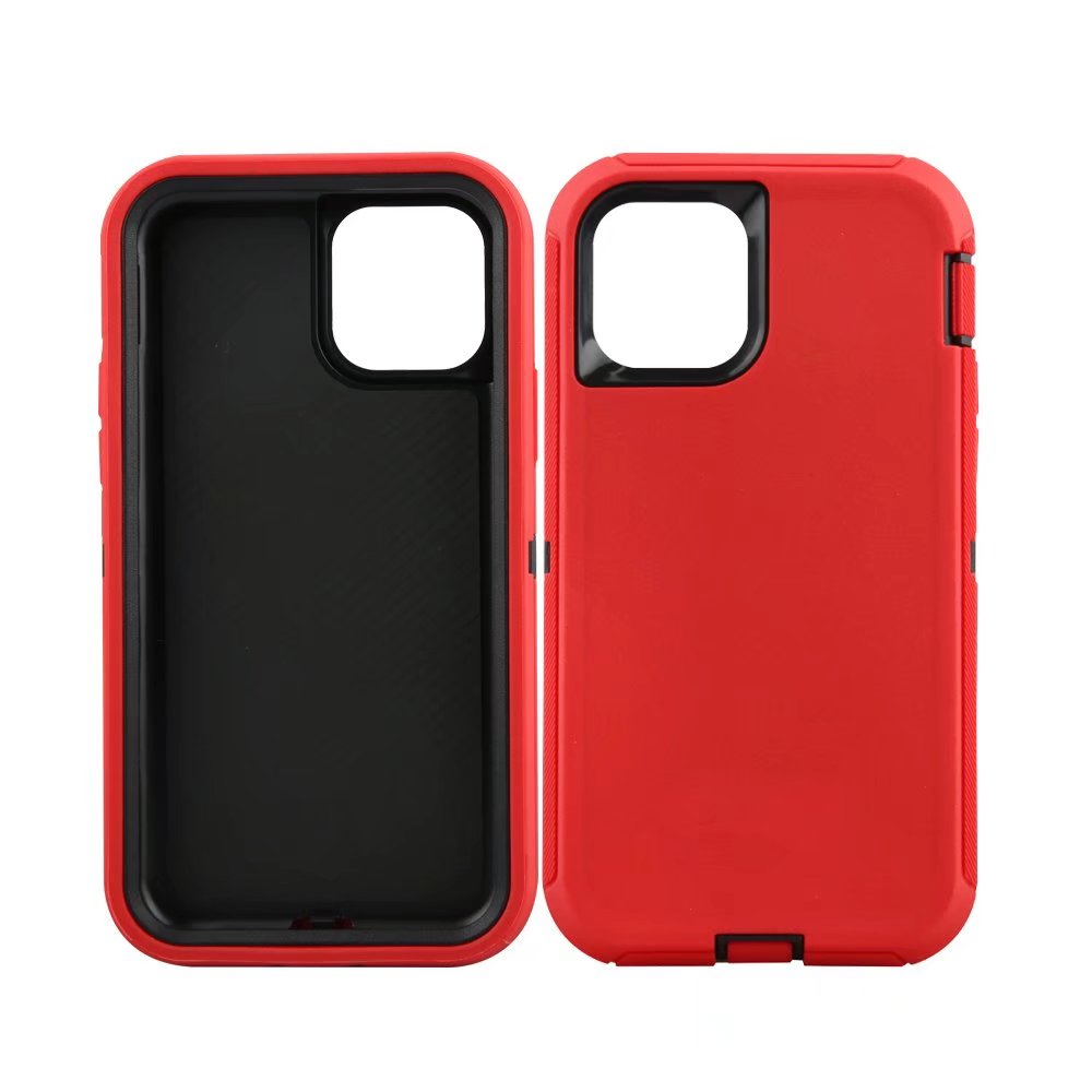 Defend Heavy Duty For Apple iPhone 11 -Red