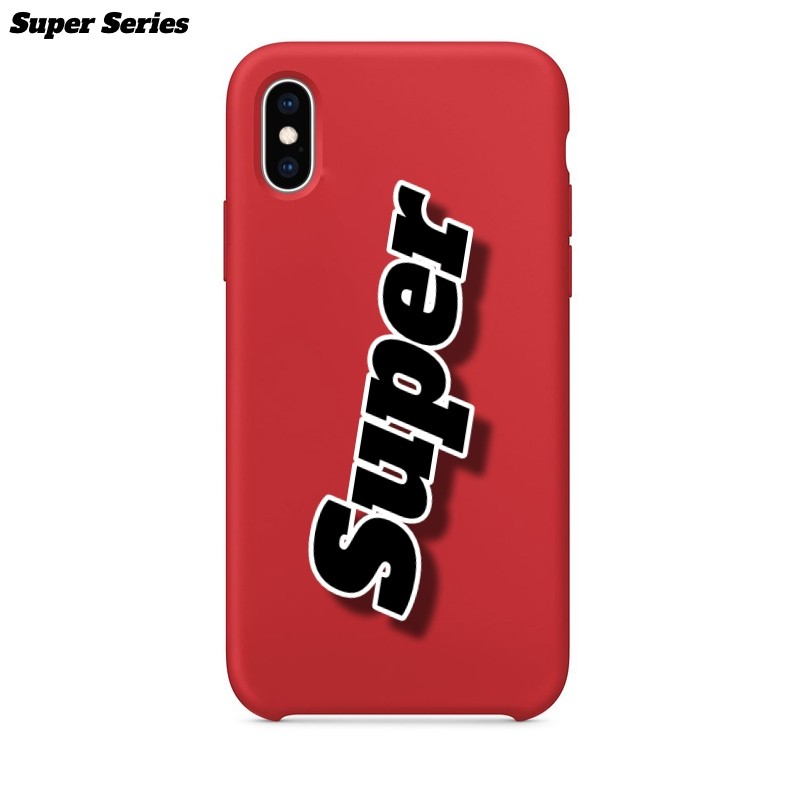 Super Series For Apple iPhone XS MAX-Red