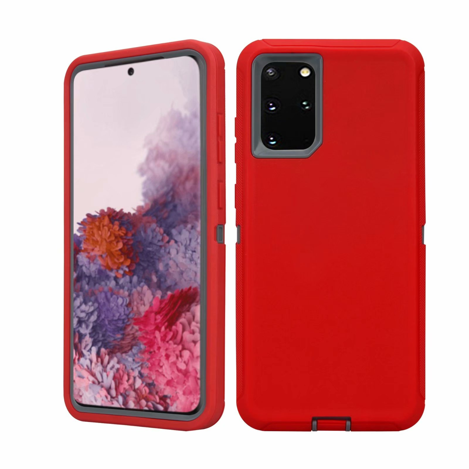 Defend Heavy Duty For SAMSUNG Glaxy S20 Plus-Red
