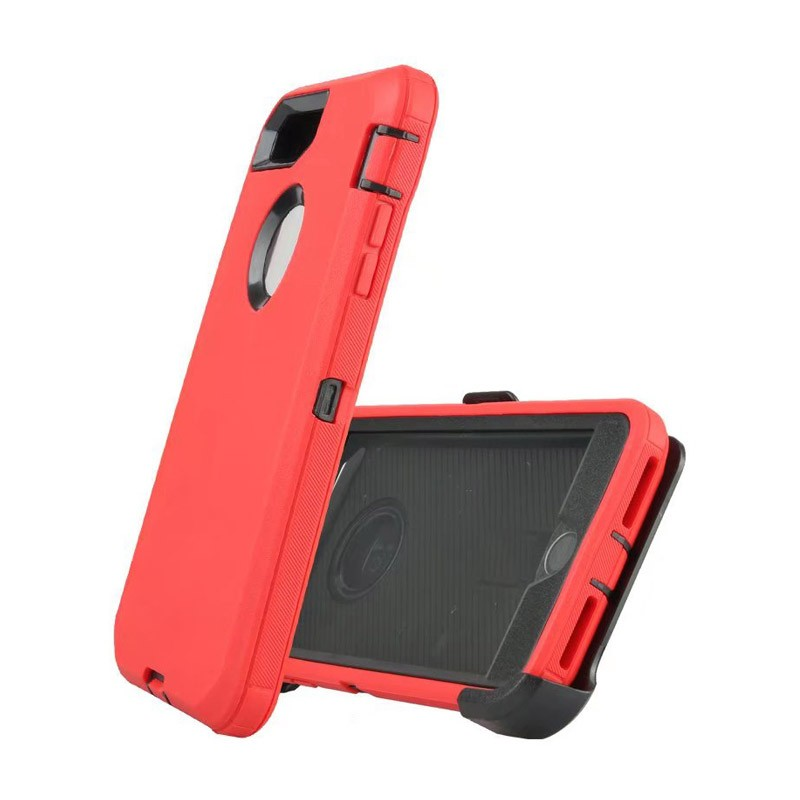 Defend Heavy Duty For Apple iPhone 5/5S/SE – Red