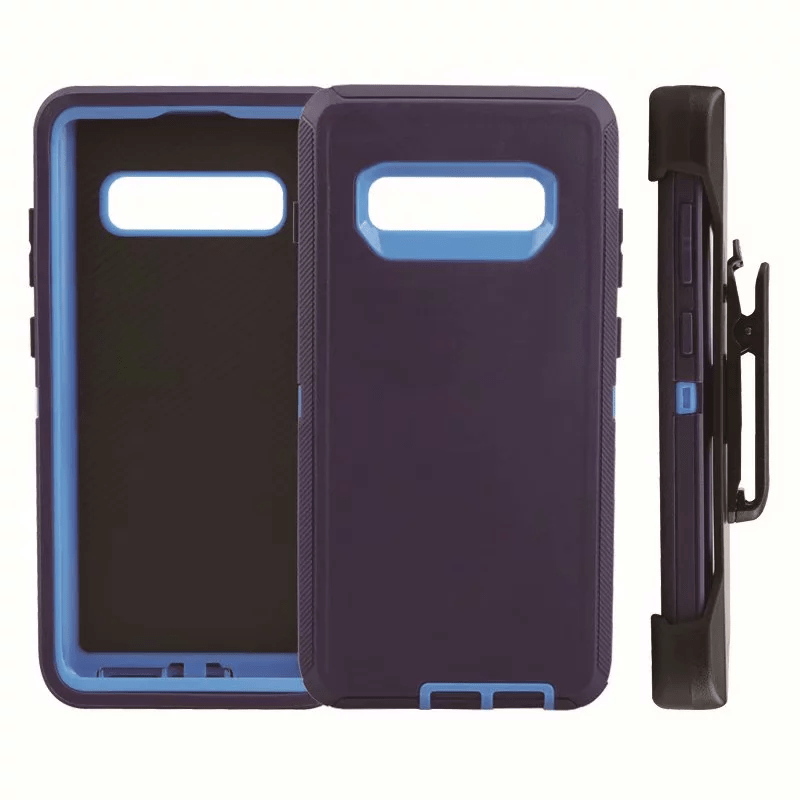 Defend Heavy Duty For SAMSUNG Glaxy S10 Plus-Navy Blue