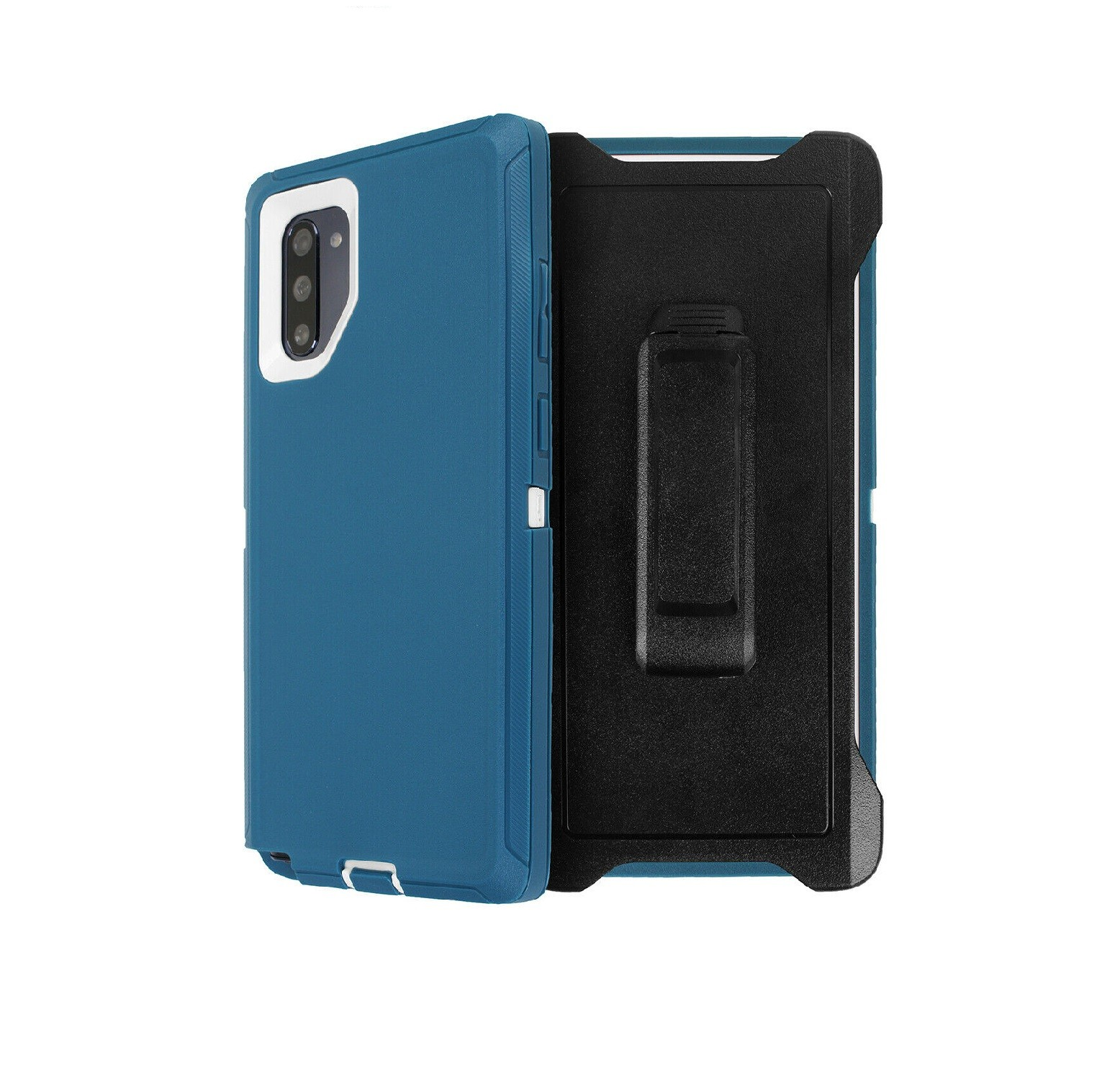 Defend Heavy Duty For SAMSUNG NOTE 10 Pro/Plus- Teal & White