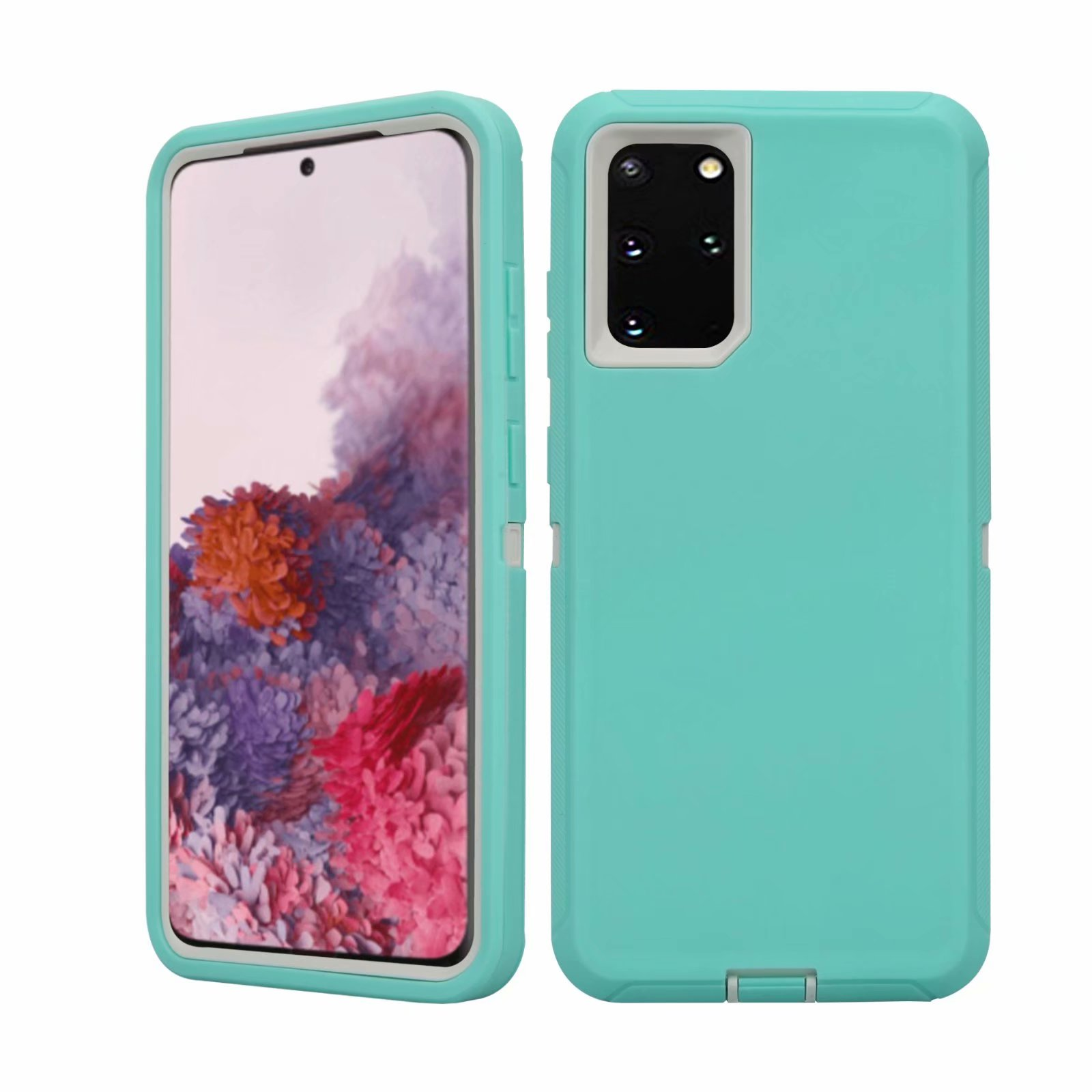 Defend Heavy Duty For SAMSUNG Glaxy S20-Teal