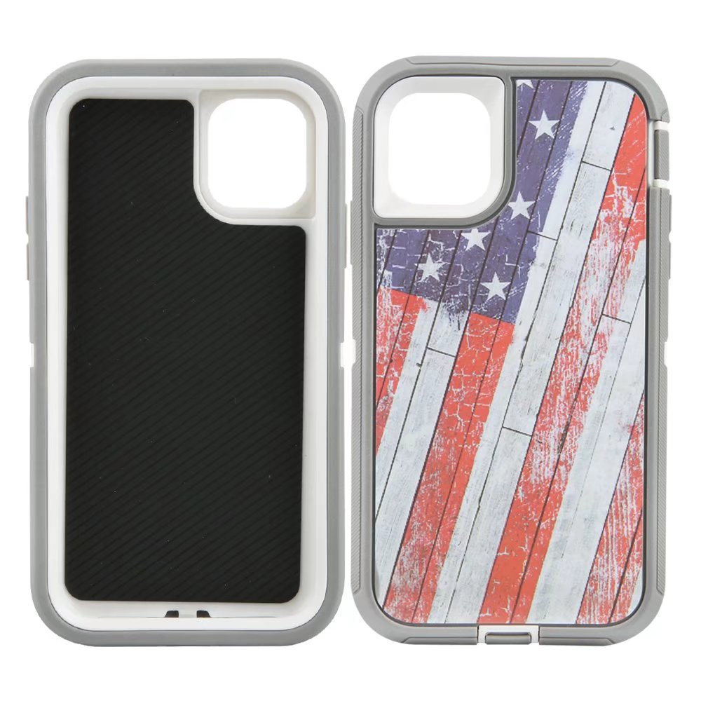 Defend Heavy Duty For Apple iPhone 11 Pro Max -US Flag