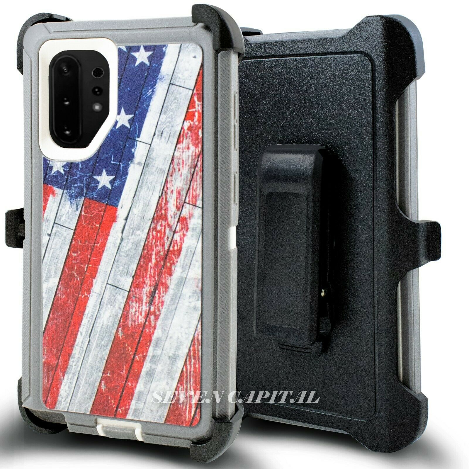 Defend Heavy Duty For SAMSUNG NOTE 10 – USA Flag