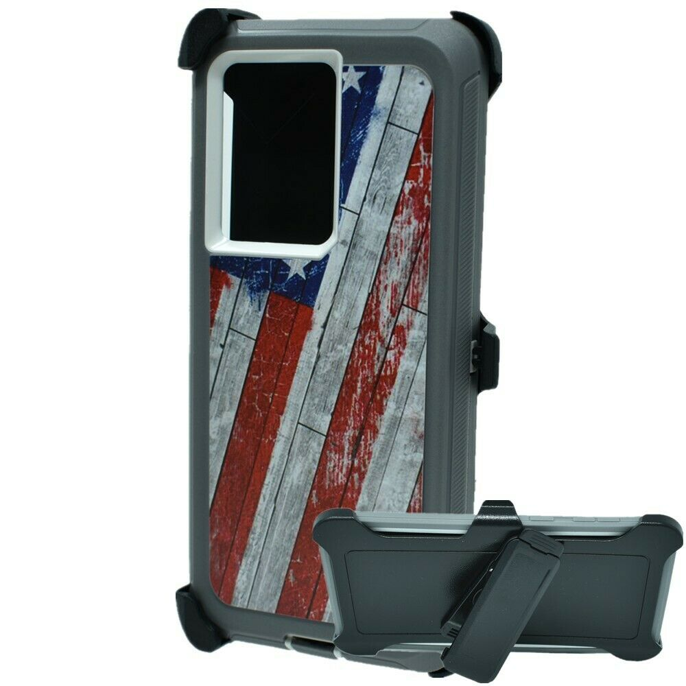 Defend Heavy Duty For SAMSUNG NOTE 20 ULTRA – USA Flag