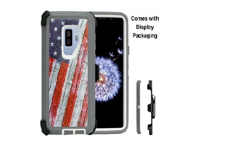 Defend Heavy Duty For SAMSUNG Glaxy S21 Plus-U.S Flag