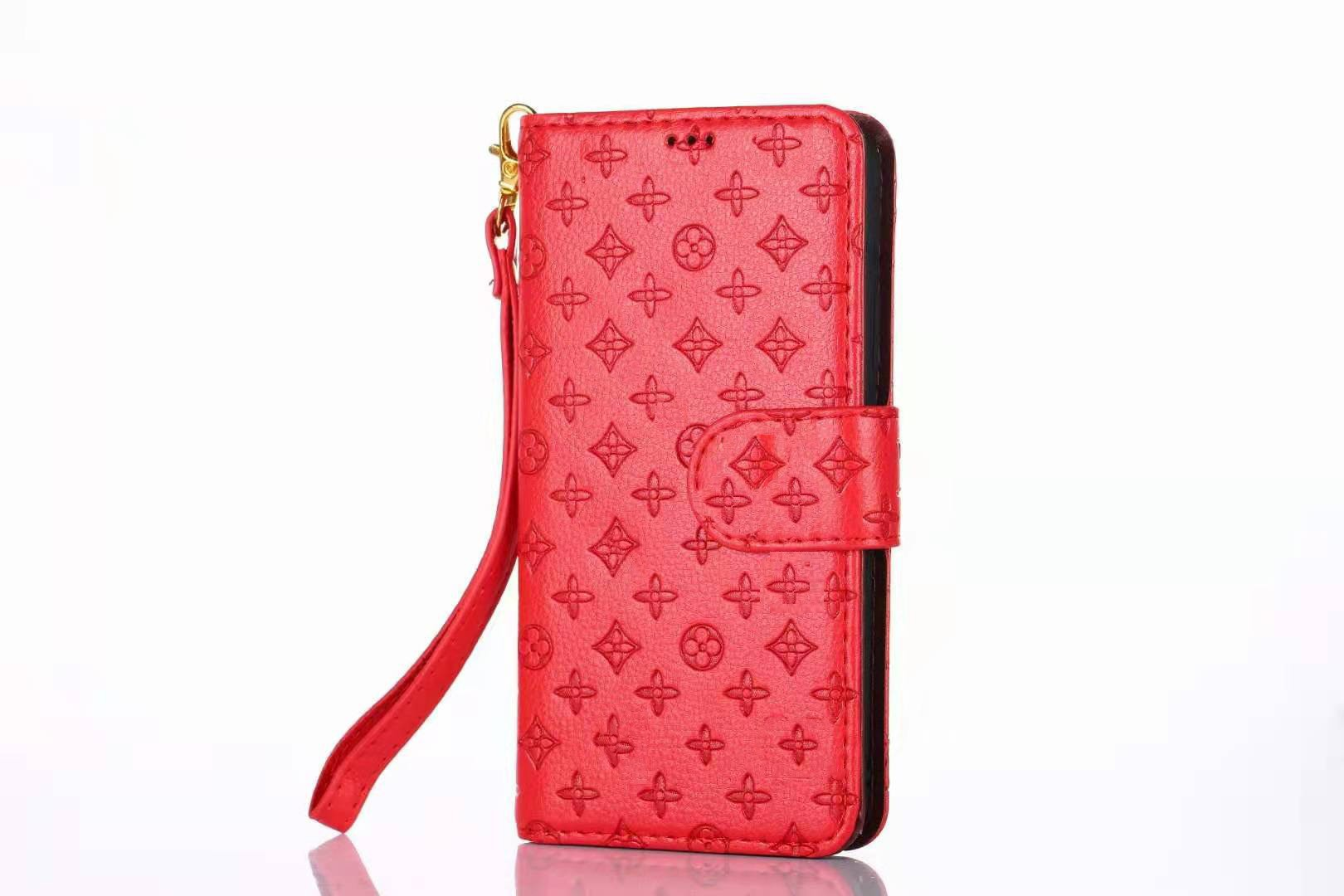 Luxurious Wallet Series For Apple iPhone  7P/8 Plus – Red